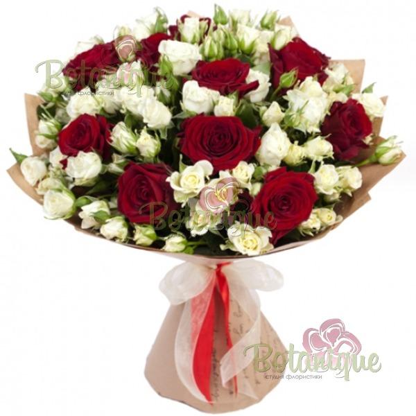 Букет - микс из роз