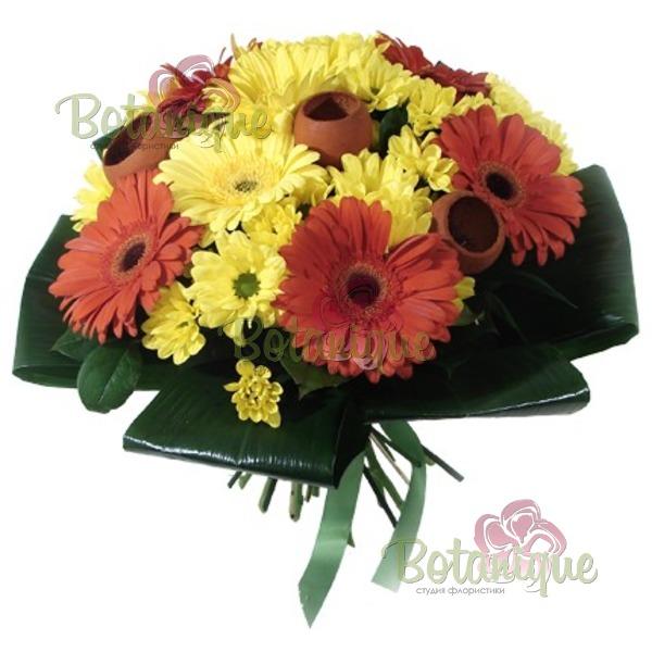 Букет подарочный доставка цветов +380951001835